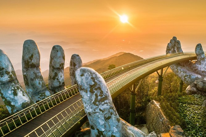 Hue- Hai Van Pass-Golden Bridge-Marble Mountains- Hoi An Transfer or vice versa