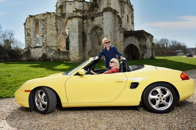 1 day Road Trip from Paris onboard vintage Porsche Boxster and Mercedes SLK