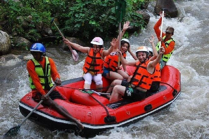 PHUKET: Rafting 5 km-Flying Fox 150 M.-Waterfall-Buddha Cave Temple-Lunch (RD)