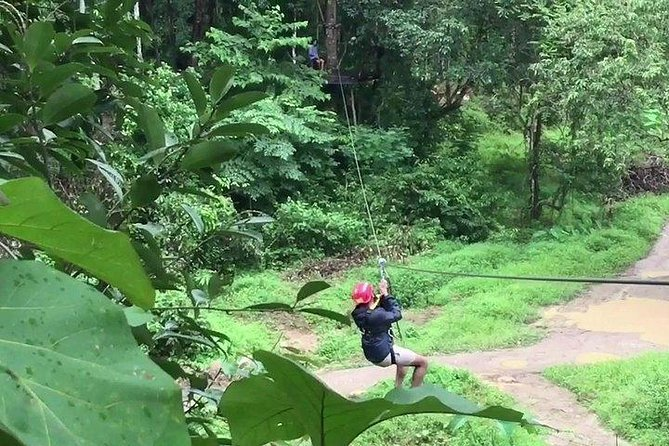 PHUKET: Rafting 5 km-Flying Fox -Buddha Cave-ATV 60M.-Waterfall-Lunch (STF) photo 7