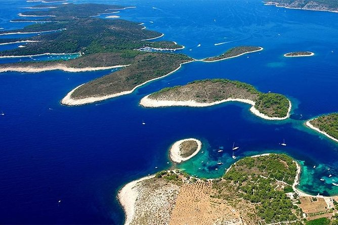 Hvar and Pakleni islands day trip from Split, speed boat tour