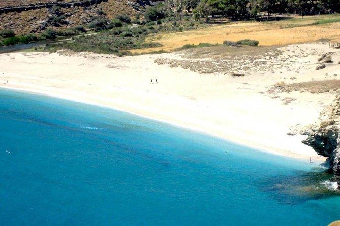 Achla beach and Gria lighthouse tour