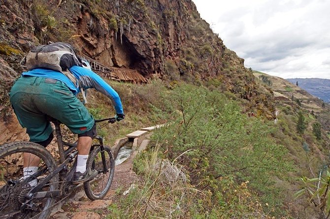 Mountain biking in Sacred Valley of Incas