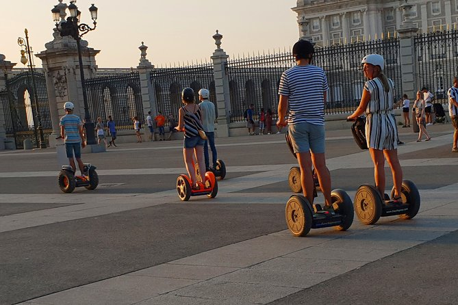 One Hour Madrid Local Spirit Segway Tour