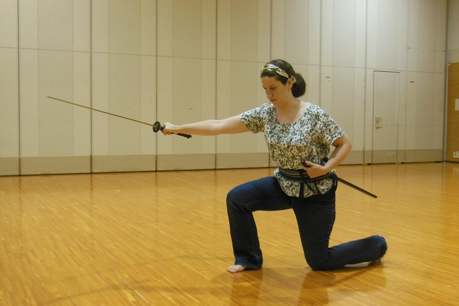 Experience Japanese Martial Arts - Iaido (Art of Drawing the Japanese Sword)