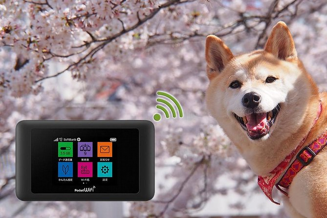 Unlimited WiFi Router Hotspot Naha (Okinawa) Airport 4G LTE plus Free Power Bank