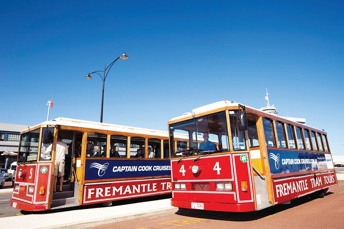 Perth & Fremantle City Explorer with Tram, Prison Tour, Lunch & Optional Cruise