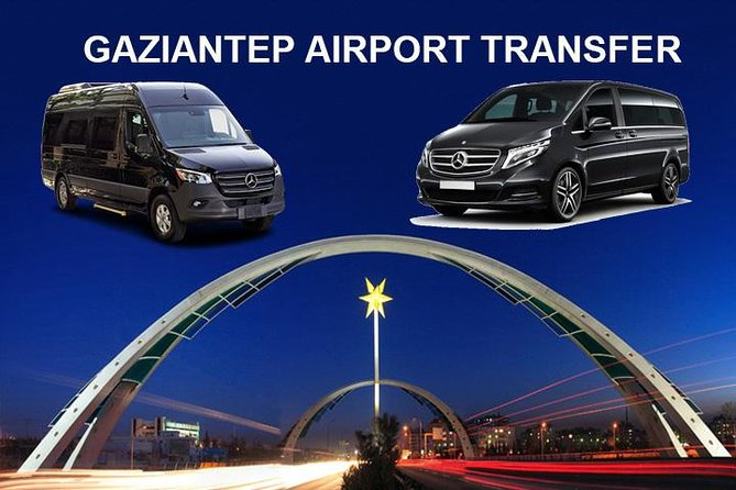 Gaziantep Airport GZT Transfers to Gaziantep City Hotels photo 1