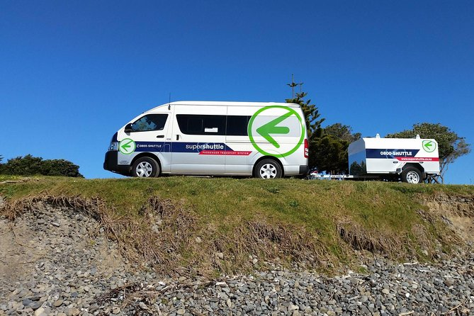 Departure Transfer: Kerikeri and Paihia City Centre to Kerikeri Airport