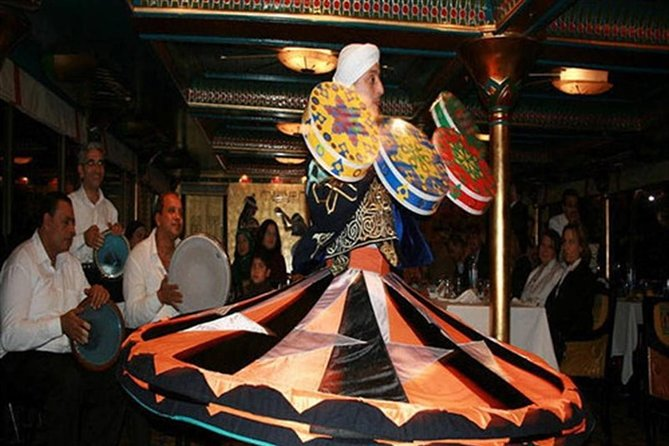 Nile dinner cruise by night experience