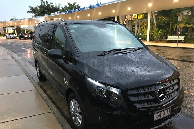 Private Transfer from Sunshine Coast Airport to Noosa for 1 to 4 people