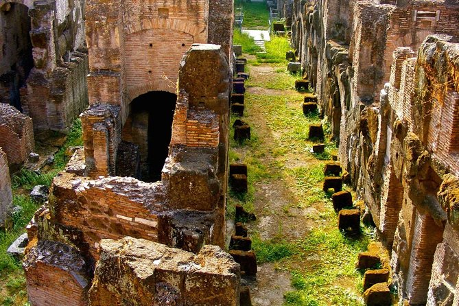 Exclusive Colosseum Gladiators Arena Ancient Rome guided Tour VIP Entry Tickets photo 5
