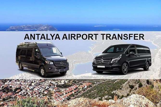Antalya Airport AYT Transfers to Kas Hotels