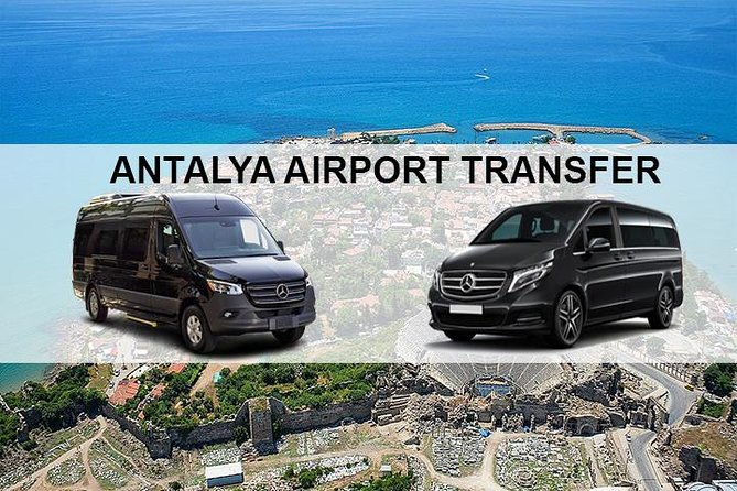 Antalya Airport AYT Transfers to Side Hotels