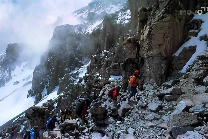 Tanzania Mount Kilimanjaro climbing, 8 Days Northern Circuit Route.