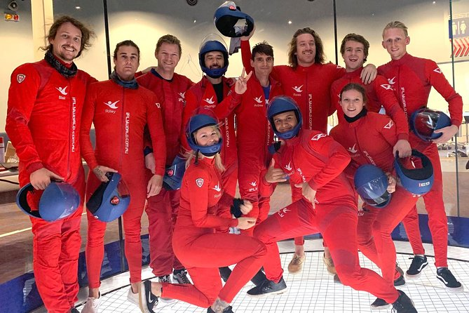 Baltimore Indoor Skydiving Experience with 2 Flights & Personalized Certificate