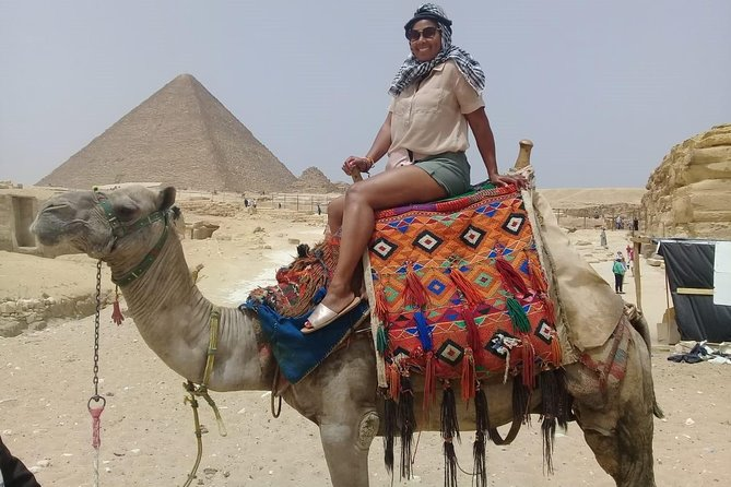 Giza pyramids , sphinx and Nile dinner cruise show from cairo or giza hotel photo 1