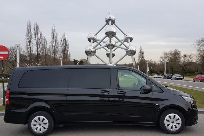 Luxury Minivan from Brussels airport to the city of Antwerp