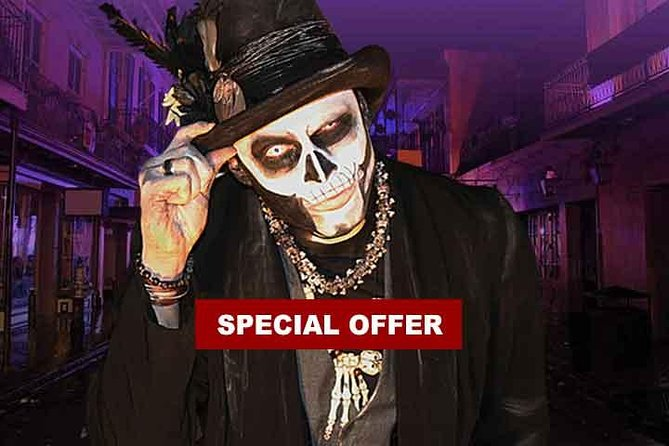 New Orleans Original Ghost,Vampires, Voodoo, & Witches Tour