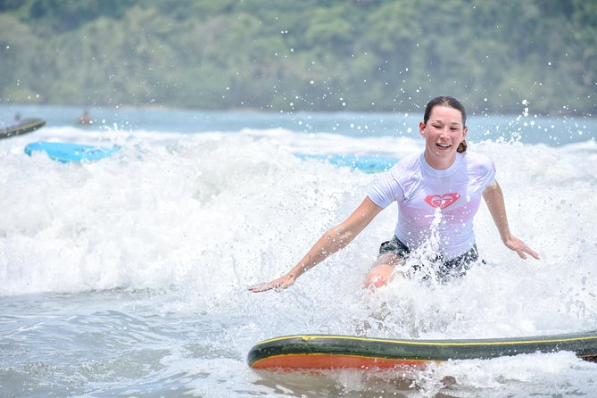 Surf Lessons in Manuel Antonio with pick up included