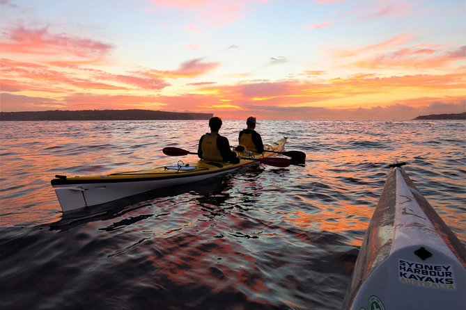 Beautiful Middle Harbour Sunriser / Guided Kayaking Tour