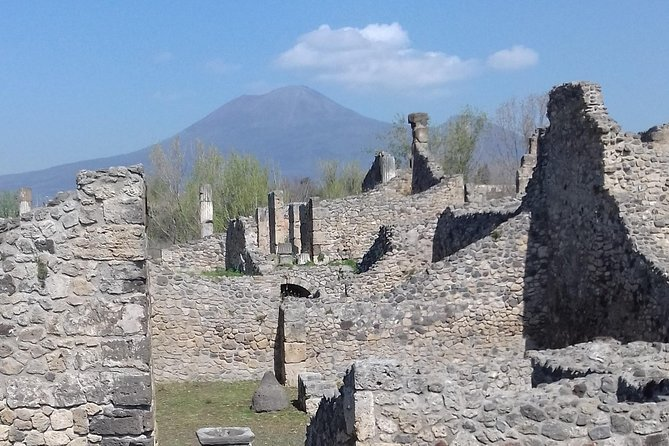 Transfer From Naples Train Station/area to Ravello with 2hr stop in Pompeii
