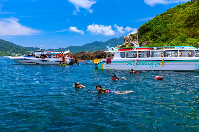 Cham Island Day Tour & Snorkeling from Da Nang with Group tour