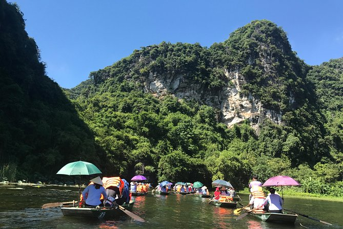 Ninh Binh Boat and Caves Small Group Full-Day Tour