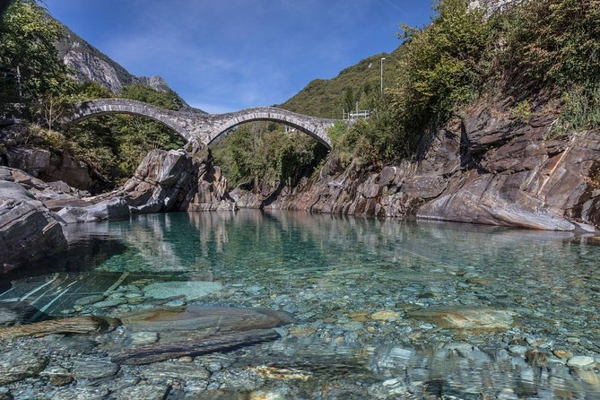 Verzasca valley, river and waterfall private guided tour