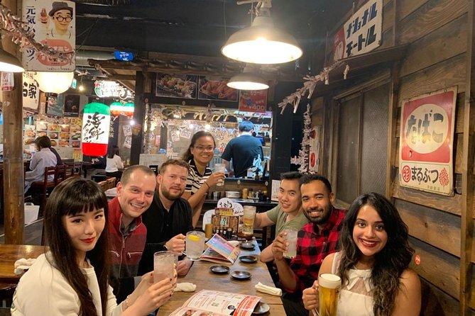 Osaka Bar Hopping Night Walking Tour in Namba
