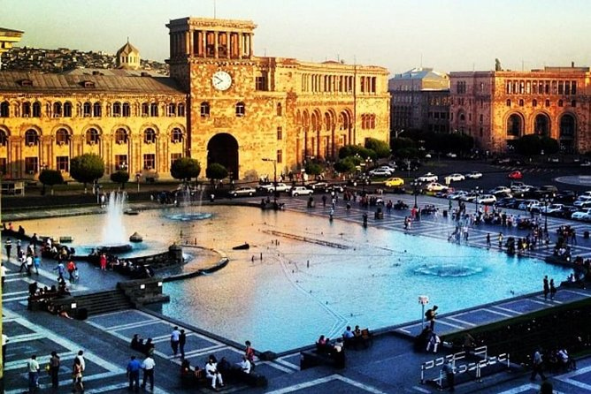 Yerevan city WALKING tour
