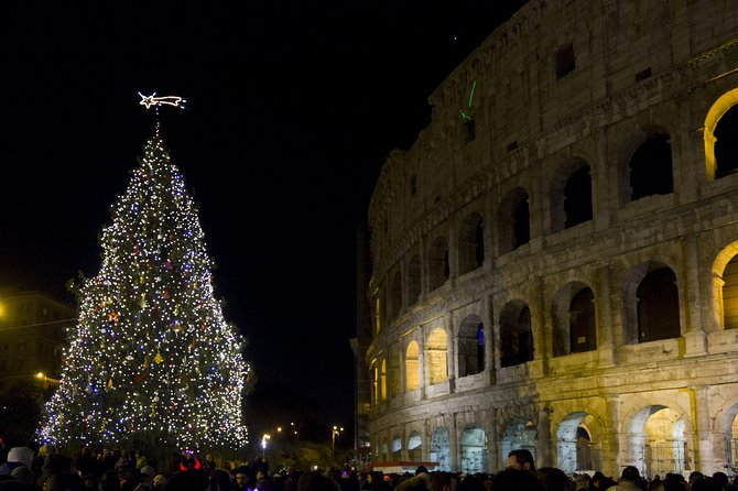 Rome's Festive Sights And Christmas Lights