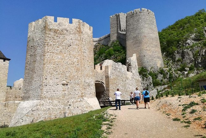 Private day trip to Golubac fortress,Viminacium and Silver lake