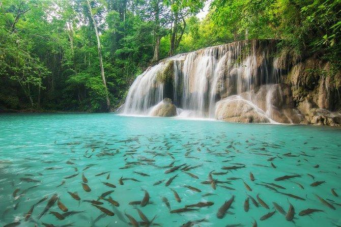 Erawan Waterfalls - Death Railway Tour: From Kanchanaburi