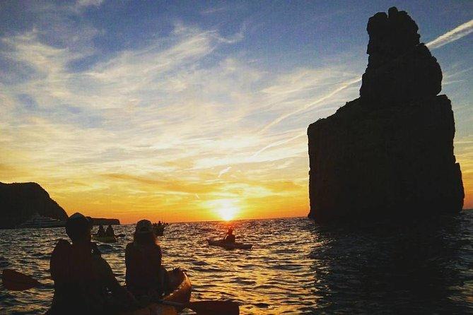 Cala Benirrás - Pôr-do-sol - Viagem de caiaque