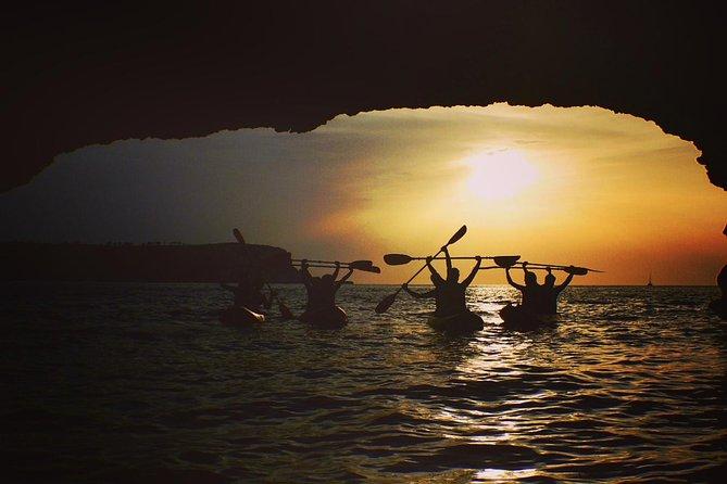 Cala Xarraca Bay - SUNSET- Kayak Trip