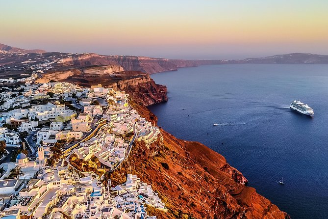 Private Santorini Helicopter Sightseeing Tour (from 190€ p.p.)