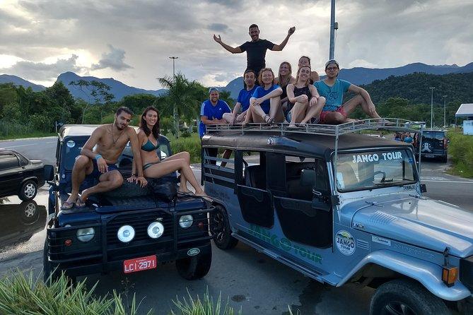 Jeep Tour Cachoeiras e Alambique - Complete route - Paraty by Jango Tour