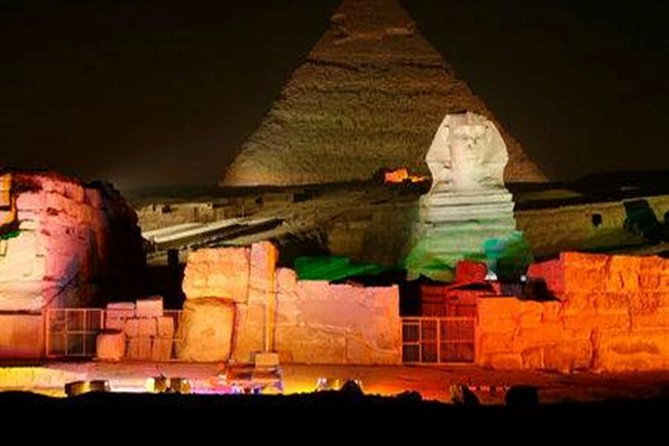 Sound and Light Show at Giza