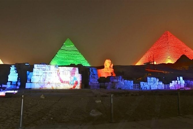 Pyramids Sound and Light Show with Transport photo 3