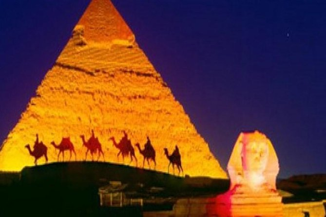 Giza Pyramids Sound and Light Show with Private transfer