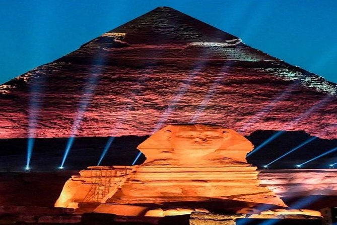 Pyramids Sound and Light Show with Transport