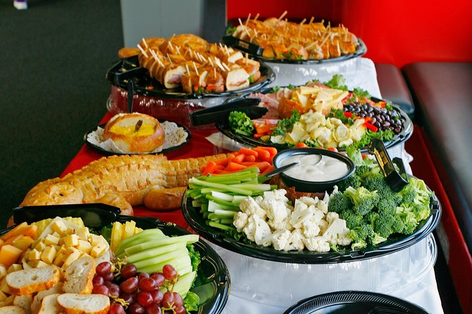 Enjoy our hearty appetizer display.