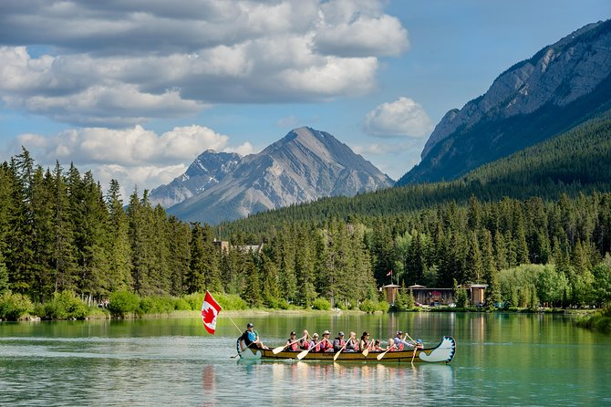 Banff National Park Big Canoe Tour photo 1