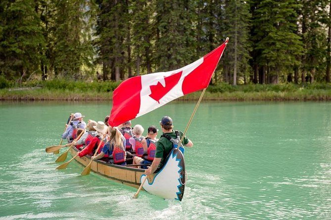 Banff National Park Big Canoe Tour photo 2