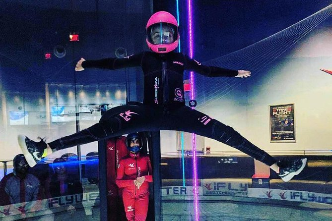 Portland Indoor Skydiving Experience with 2 Flights & Personalized Certificate