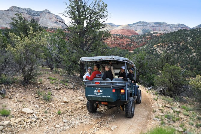 Zion National Park Slot Canyon Rappelling and Jeep Tour