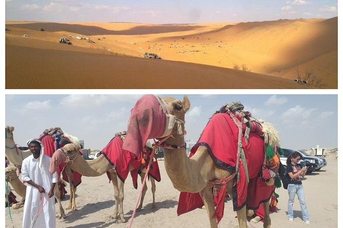 Dune Safari,Sand boarding, Camel ride With BBQ Meal.