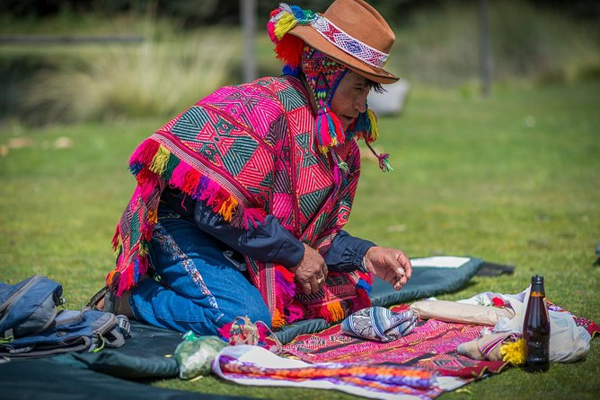 Shamanic Ceremony Offering to Mother Earth