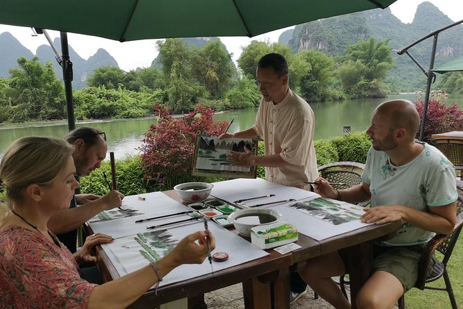 Calligraphy or Painting class in yangshuo